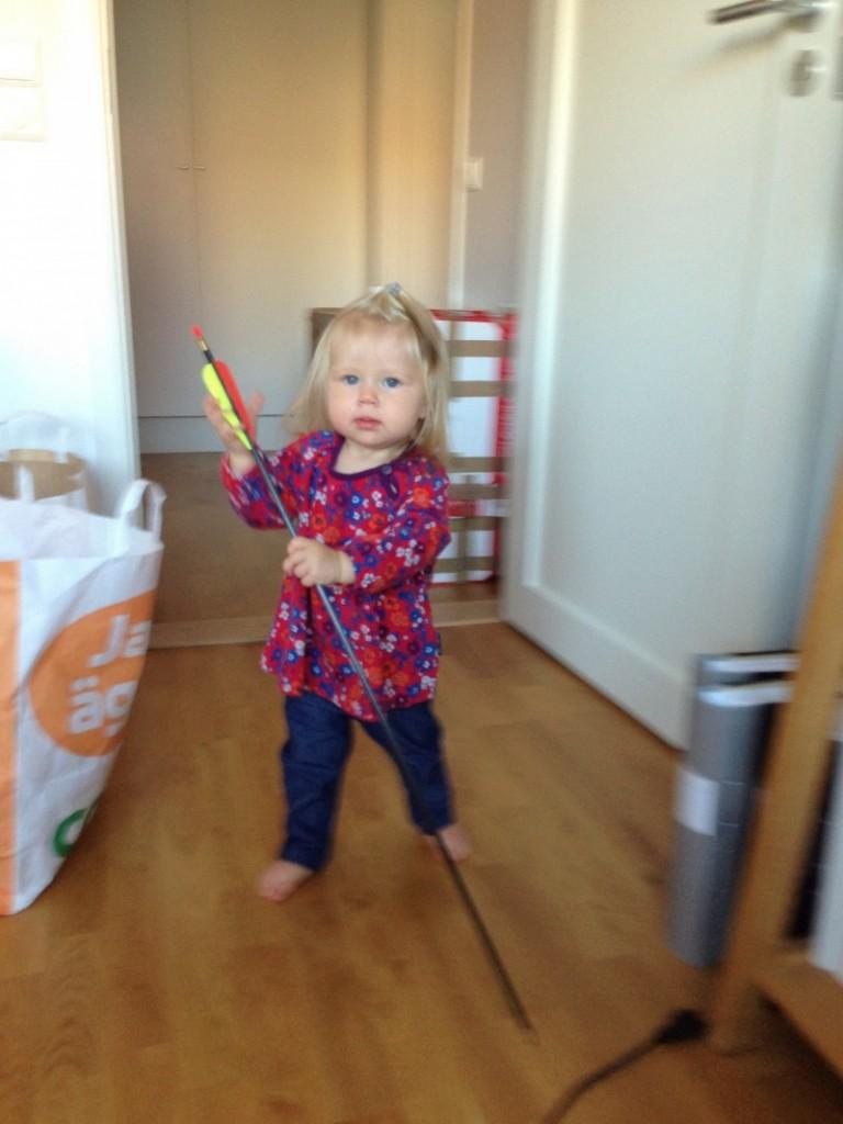 Ebba på jakt